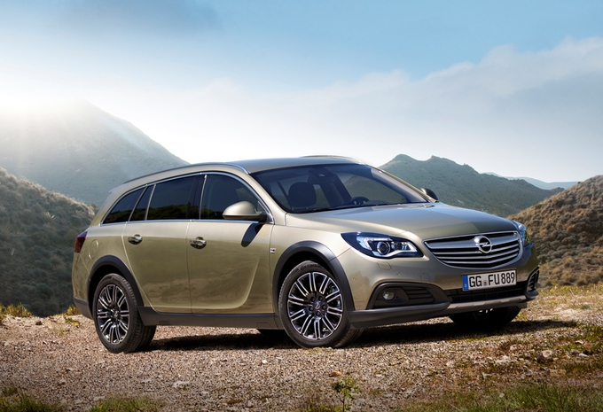 Opel Insignia Country Tourer #1