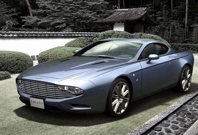 Aston Martin DBS Coupé en DB9 Spyder Zagato Centennial #1