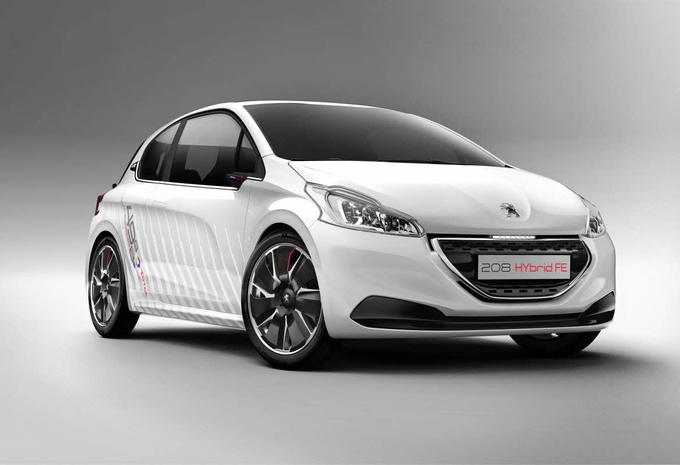 Peugeot 208 Hybrid FE #1