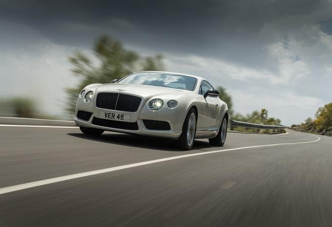 Bentley Continental GT et GTC V8 S #1