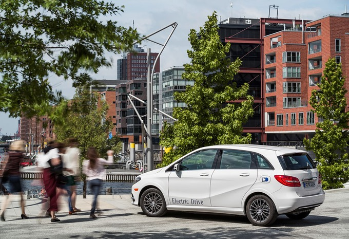 Mercedes B-Klasse Electric Drive #4