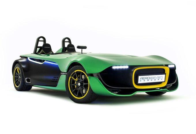 Caterham AeroSeven Concept #1