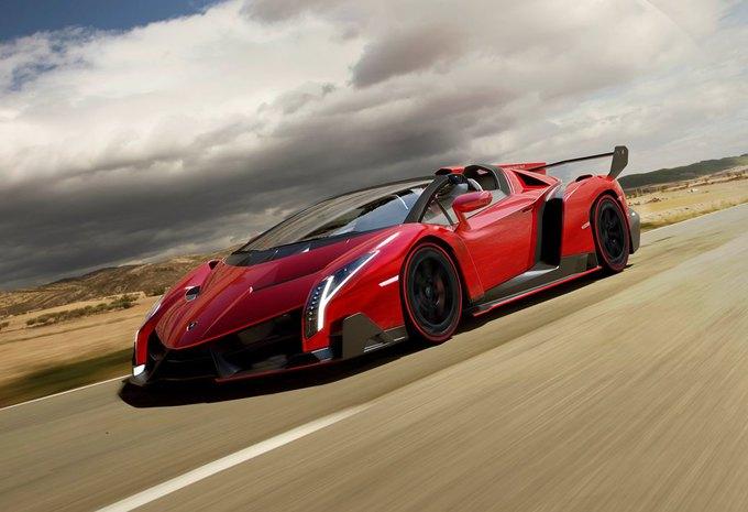 Lamborghini Veneno Roadster #1