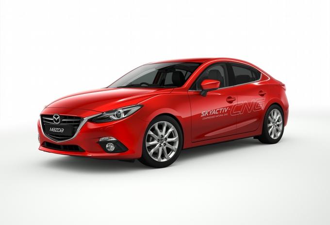 Mazda 3 Hybrid en CNG #3