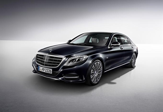 Mercedes S 600 #1