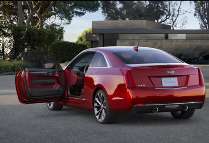 Cadillac ATS Coupé #3