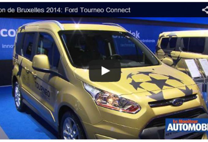 Vidéo salon : Ford Tourneo Connect #1