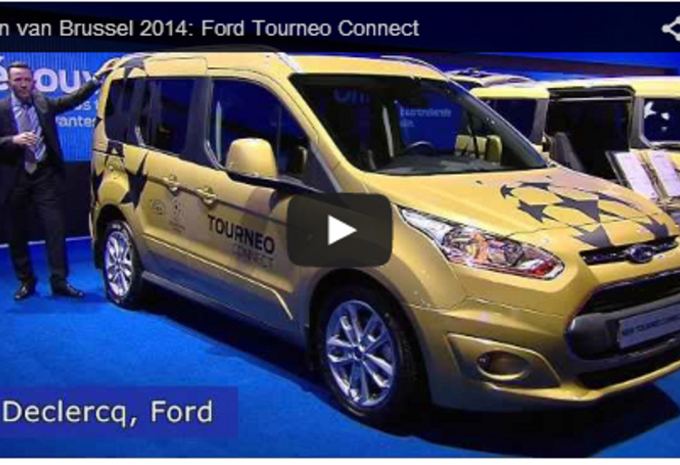 Salonvideo : Ford Tourneo Connect #1
