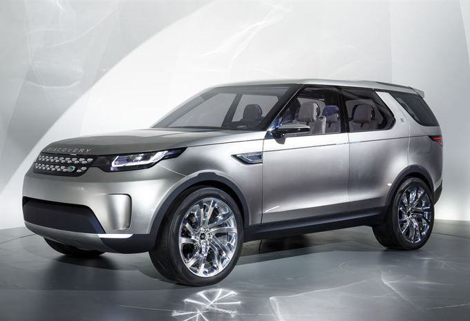 Land Rover Discovery Vision Concept #1