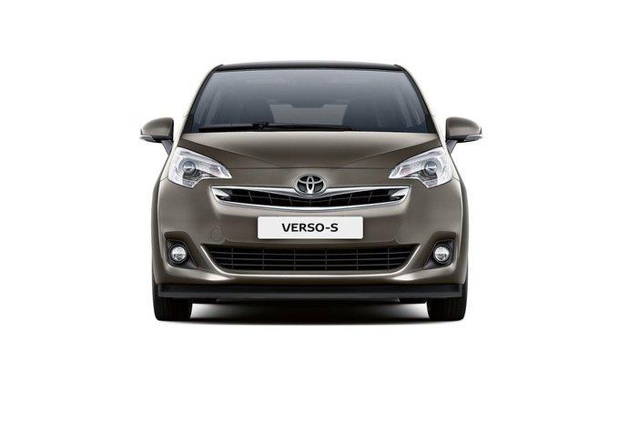Toyota Verso Nieuw Model >> Nieuw model Toyota Verso-S - AutoGids