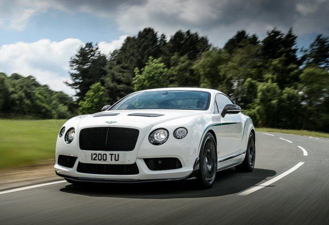 Een 'lichtgewicht' Bentley Continental #1