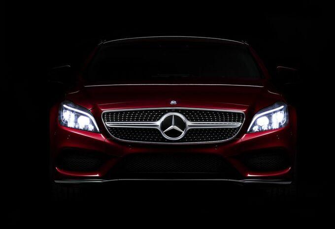 La Mercedes CLS montre ses yeux Multibeam LED #1