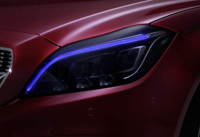 La Mercedes CLS montre ses yeux Multibeam LED #2