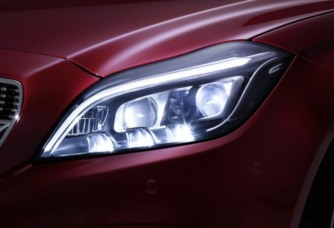 La Mercedes CLS montre ses yeux Multibeam LED #3