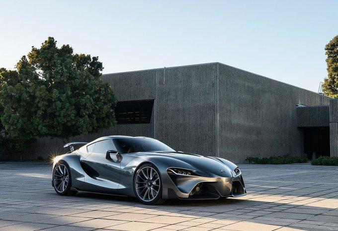 Toyota FT-1 Graphite Concept moins écarlate #1