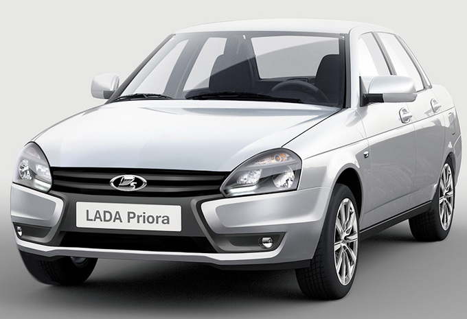 Lada Priora face-lift et boîte auto #1