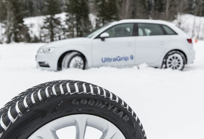photos goodyear ultragrip 9 pneu double visage moniteur automobile. Black Bedroom Furniture Sets. Home Design Ideas