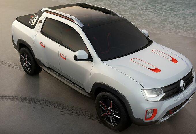 Renault Duster Oroch, SUV transformé #1