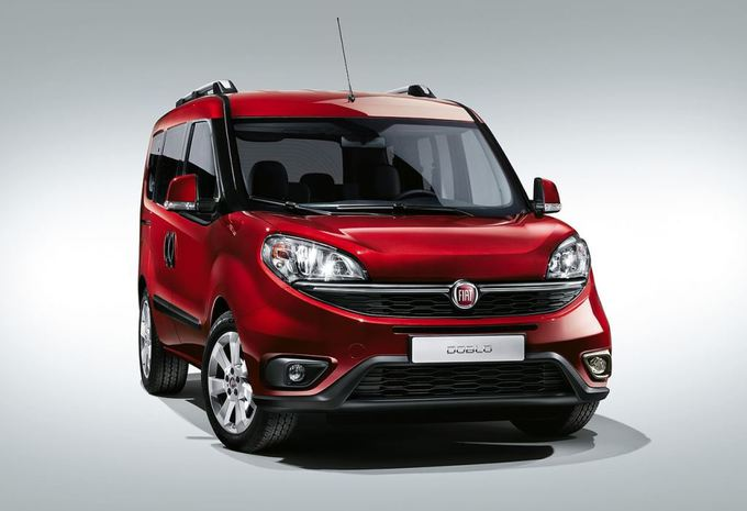 Salon auto Bruxelles 2015 : Fiat Dobló, en multiples versions #1