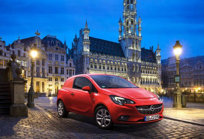 Salon auto Bruxelles 2015 : Opel Corsavan en 1re mondiale #1