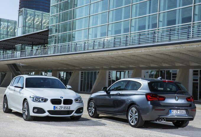 BMW Série 1, restylage bien visible #1
