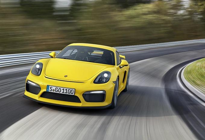 Salon Genève 2015 : Porsche Cayman GT4, habillée pour la piste #1