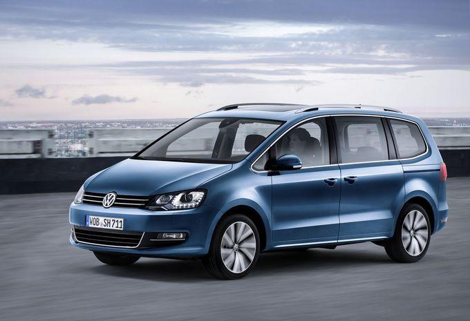 Salon van Genève 2015: Volkswagen Sharan krijgt technische update #1