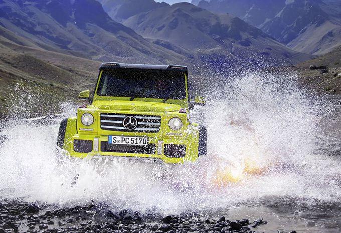 Mercedes G 500 4x4² Showcar, proche de la production #1