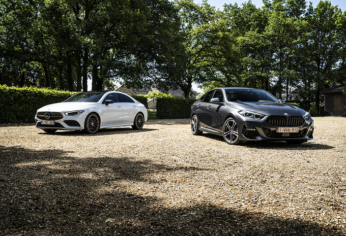 BMW 220d Gran Coupé vs Mercedes CLA 220 d #1