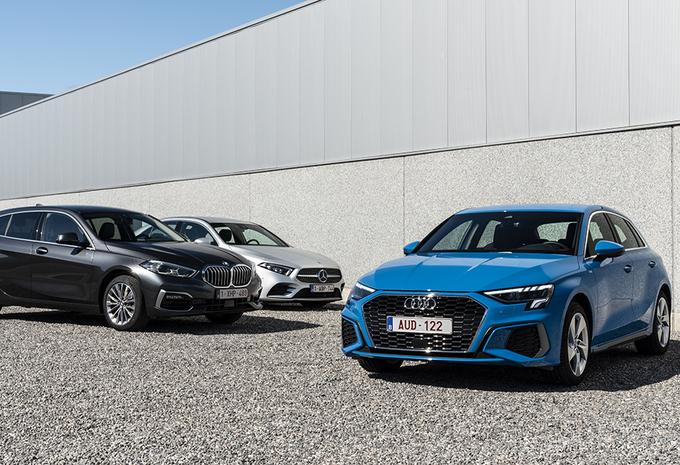 Audi A3 contre 2 rivales : La guerre des trois! #1