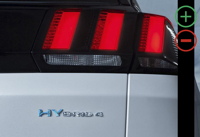 Peugeot 3008 Hybrid4 300 e-EAT8 : avantages et inconvénients #1