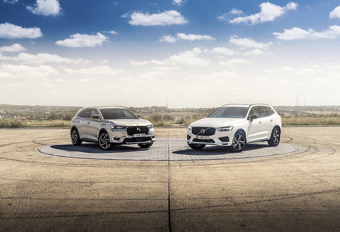 In duel: DS 7 CROSSBACK E-TENSE 4X4 vs. VOLVO XC60 T6 RECHARGE #1