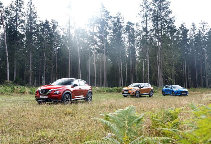 Ford Puma vs Nissan Juke vs Renault Captur: Dwarsrijder  #1