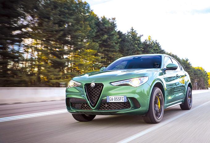 Alfa Romeo Stelvio Quadrifoglio : Orde op zaken #1