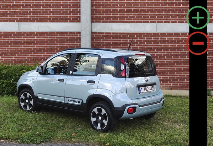 Fiat Panda City Cross Hybrid : avantages et inconvénients #1
