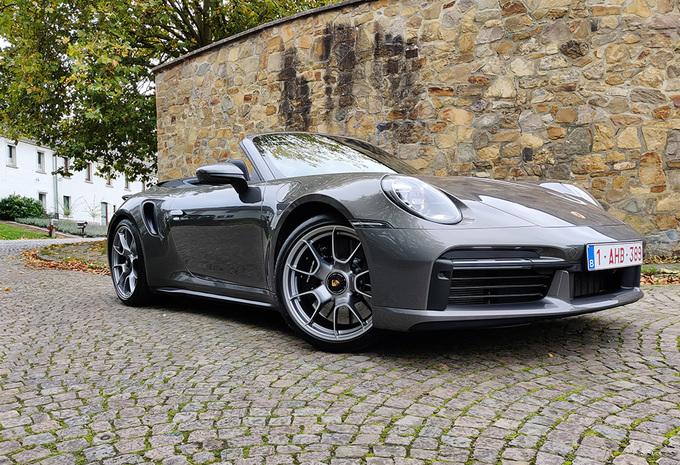 Porsche 911 Turbo S Cabriolet : comme un tourbillon #1