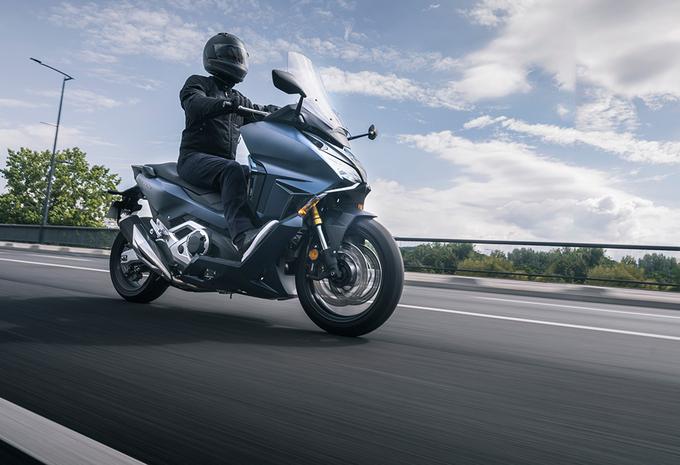 Honda Forza 750 (2021) - motortest #1