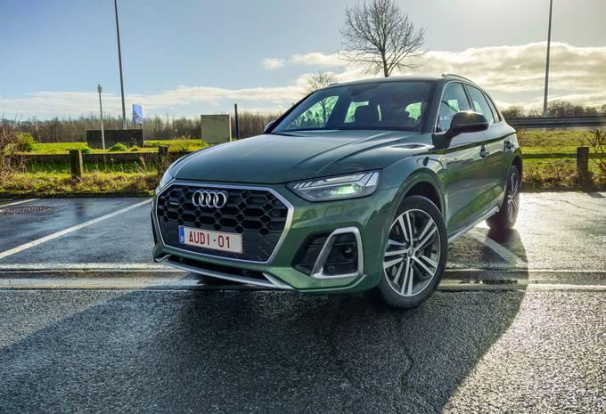 Audi Q5 40 TDI (2021) - facelift #1