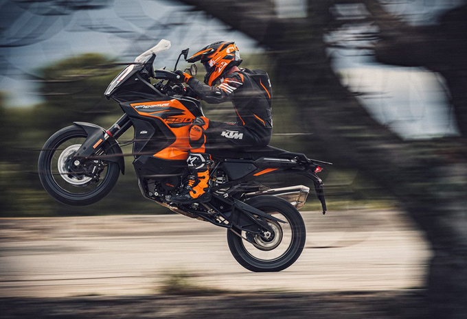 KTM 1290 Super Adventure S (2021) - motortest #1