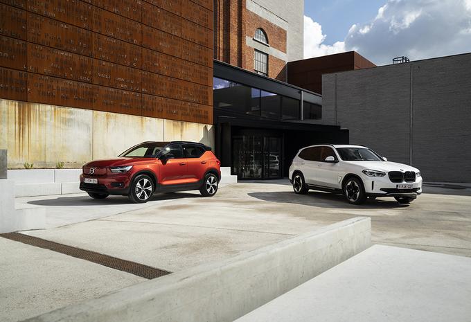 2 SUV électriques : BMW ix3 vs Volvo XC40 Recharge #1