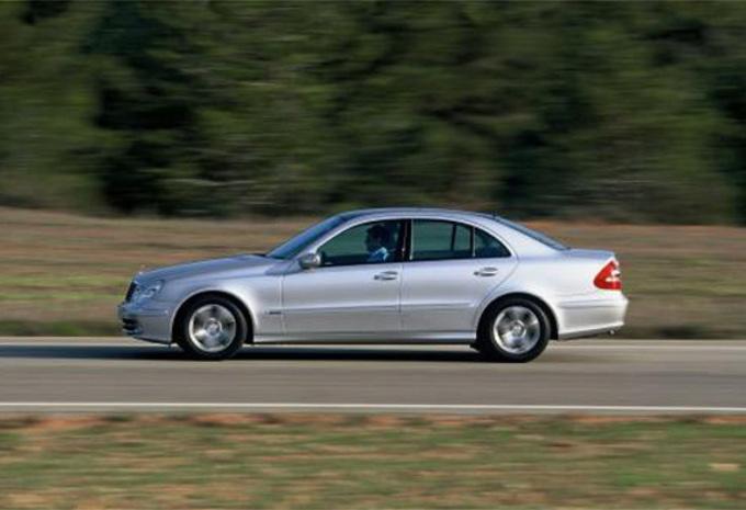 BMW 535d vs Mercedes E400 CDI #1