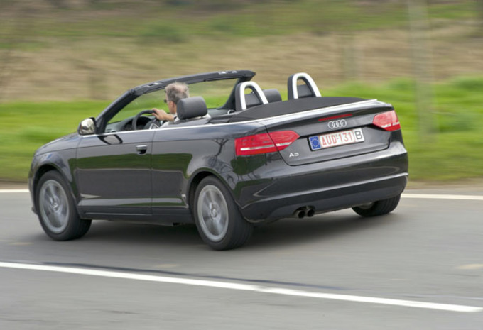 review audi a3 1 9 tdi cabriolet autogidsreview. Black Bedroom Furniture Sets. Home Design Ideas