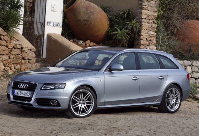 essai audi a4 avant 2 0 tdi 120 moniteur automobile. Black Bedroom Furniture Sets. Home Design Ideas