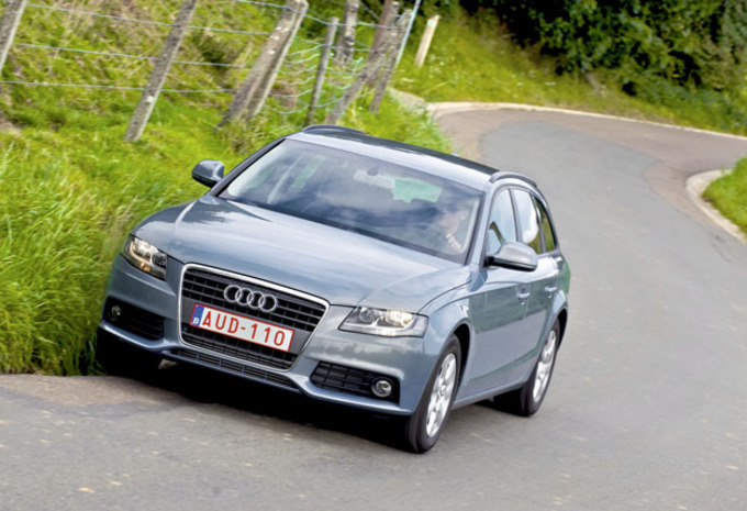 test test audi a4 avant 2 0 tdi 120 autogids. Black Bedroom Furniture Sets. Home Design Ideas