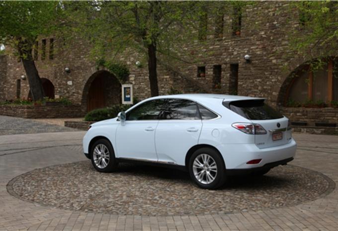 Lexus Fx 450 >> Images Lexus RX 450h - Moniteur Automobile