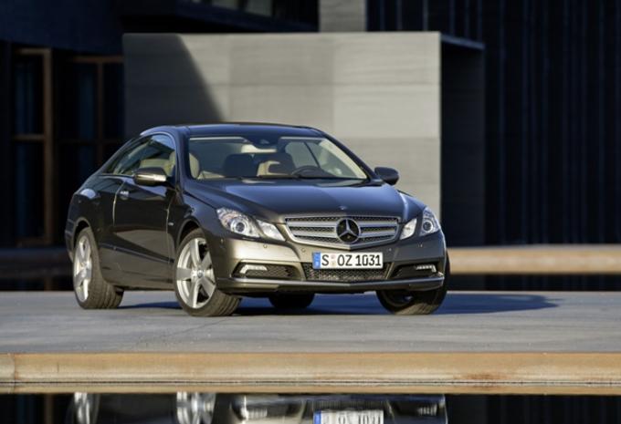 Mercedes Classe E Coupé  #1