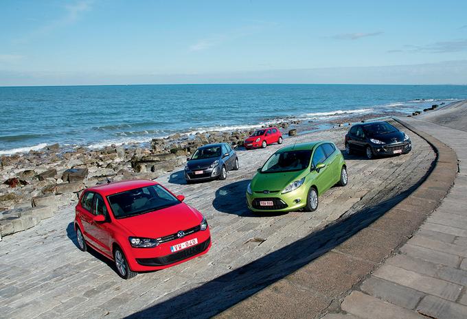 Ford Fiesta 1.6 TDCi 90, Opel Corsa 1.3 CDTi 90, Peugeot 207 1.6 HDi 90, Renault Clio 1.5 dCi 85 & Volkswagen Polo 1.6 TDI 90 : Rififi chez les fourmis #1