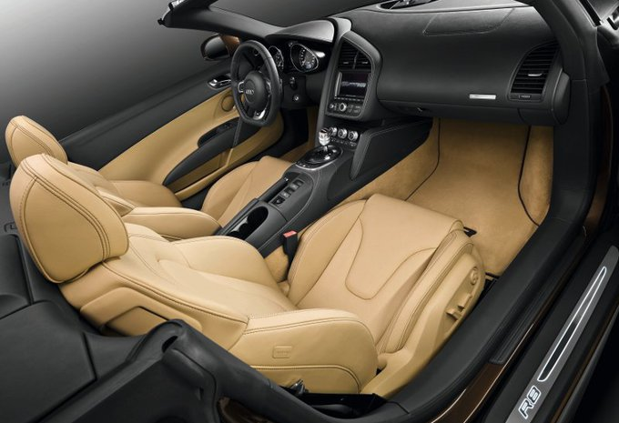 Audi R8 Spyder  #1