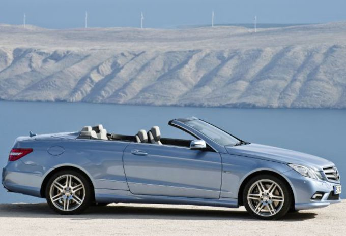 Mercedes E 350 CDI Cabriolet #1
