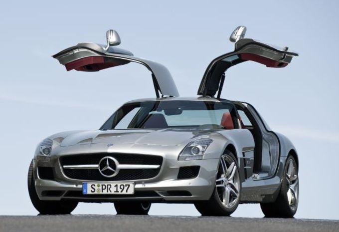 Mercedes SLS AMG #1